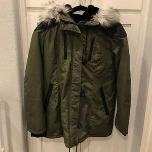 Forever 21 Olive Green Winter coat